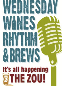 Wednesday Wines, Rhythm & Brews w/ Rollie Tussing & Friends