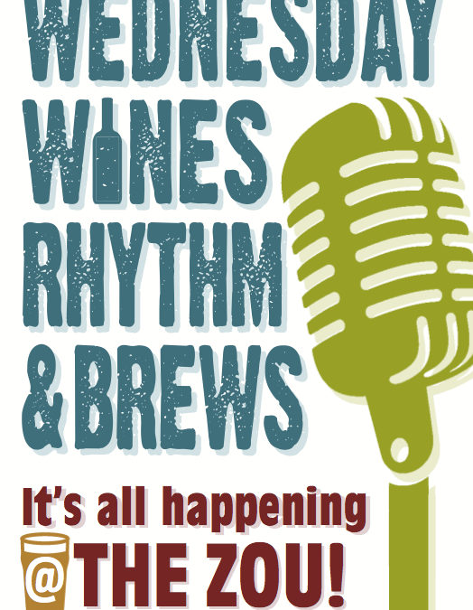Wednesday Wines, Rhythm & Brews w/ Rollie Tussing and Friends