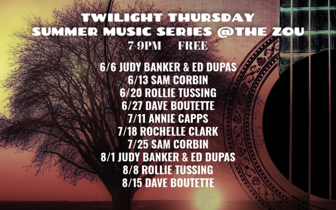 Twilight Thursday Summer Music Series: Sam Corbin