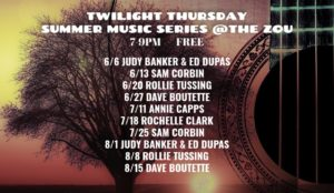 Twilight Thursday Summer Music Series: Rollie Tussing