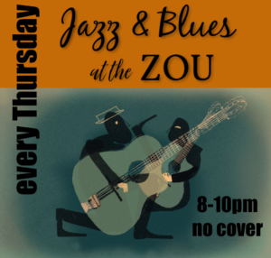 Thursday Jazz & Blues Series w/ Pete Holland and the Zou Animals