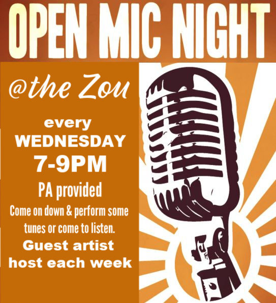 Wednesday Open Mic w/ guest host Rochelle Clark